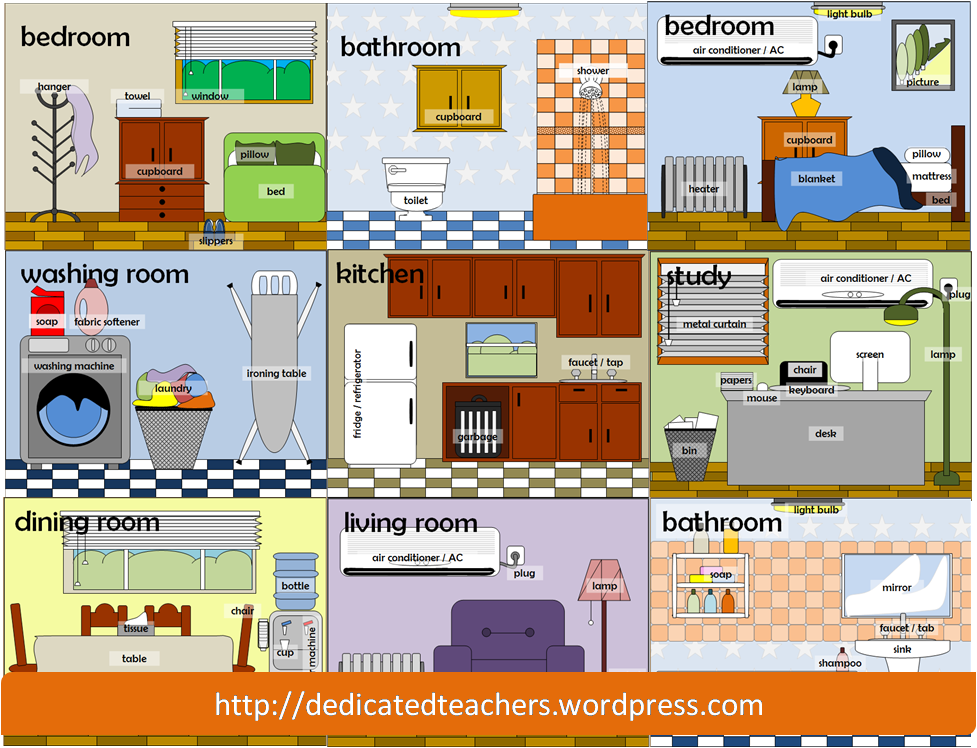 Different types of rooms in a house clipart clipart library stock PNG Rooms Of The House Transparent Rooms Of The House.PNG ... clipart library stock