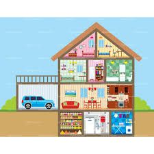 Different types of rooms in a house clipart png freeuse download 114 Best rooms images in 2016   House clipart, The house ... png freeuse download