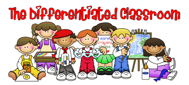 Differentiated instruction clipart