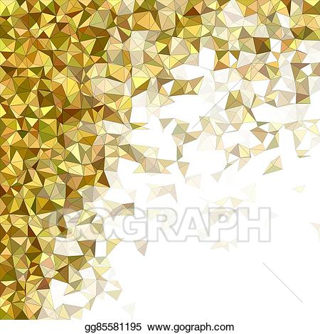 Diffuse clipart svg black and white EPS Vector - Diffuse triangle mosaic vector background design. Stock ... svg black and white