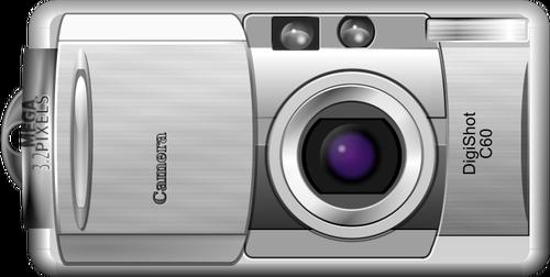 Digital camera vector clipart png transparent library Vector clip art of open and shoot digital camera   Public domain vectors png transparent library