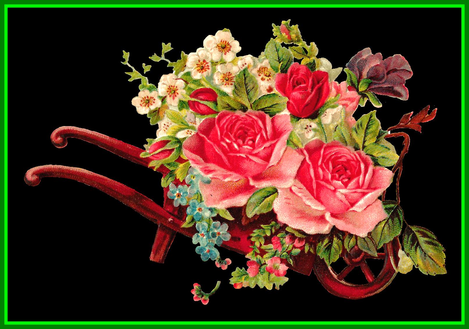 Digital flower clipart clip royalty free stock Awesome Pennino Vintage Pink Fuchsia Rhodium Plated Rhinestone ... clip royalty free stock