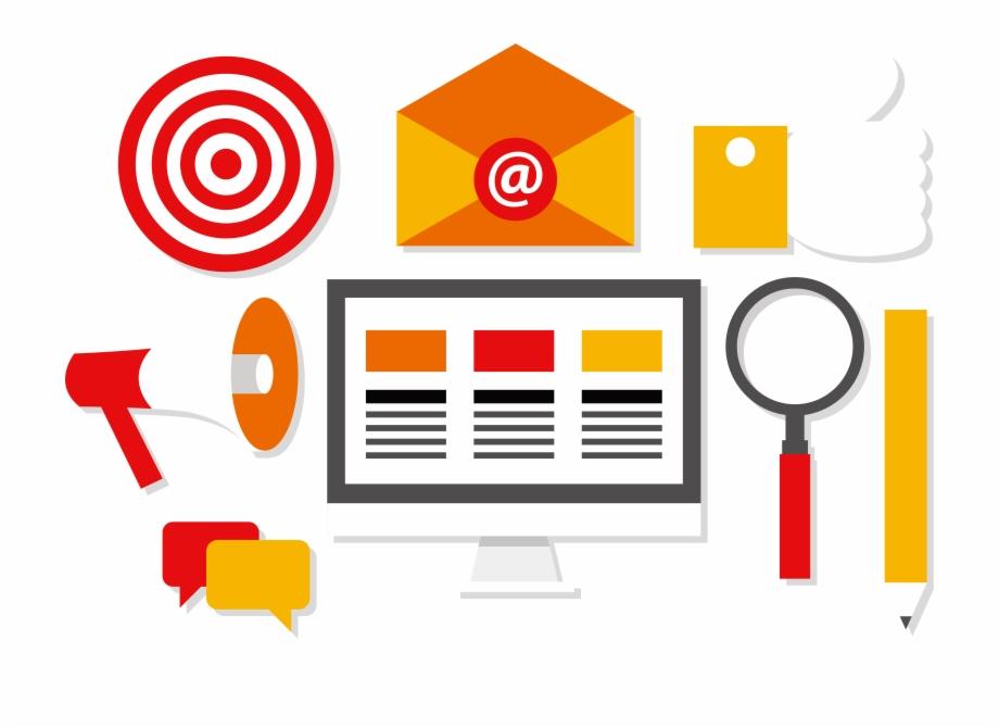 Digital marketing vector clipart image stock Digital Marketing Social Media Euclidean Vector - Digital Marketing ... image stock