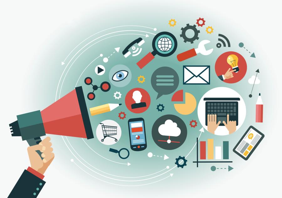 Digital media clipart royalty free Digital Marketing Background clipart - Marketing, Advertising, Media ... royalty free