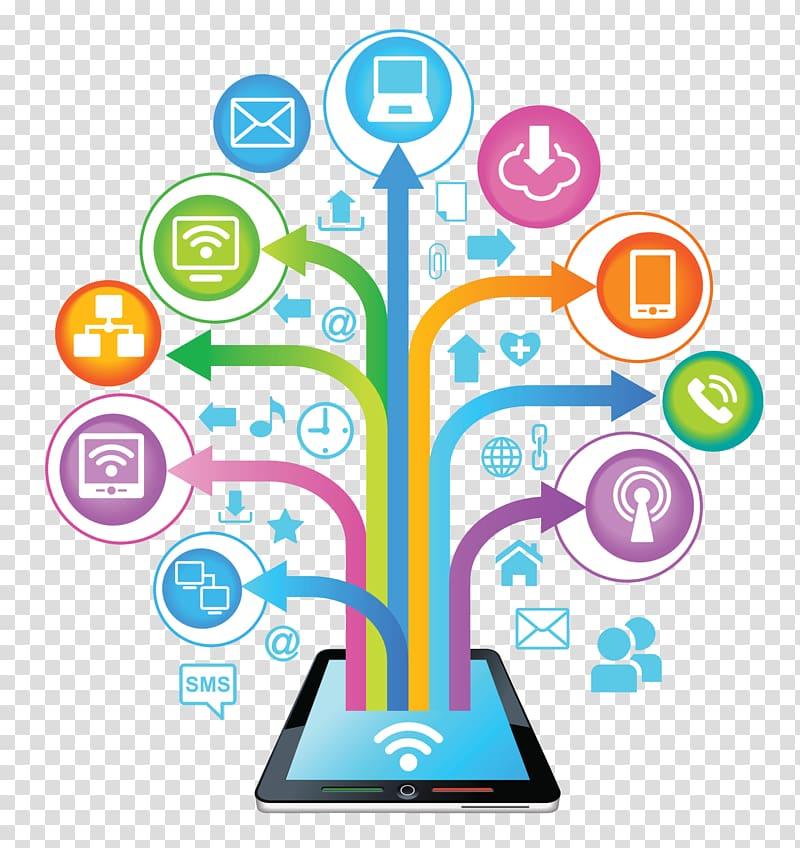 Digital media clipart vector transparent download Social media marketing Digital marketing Business, digital ... vector transparent download