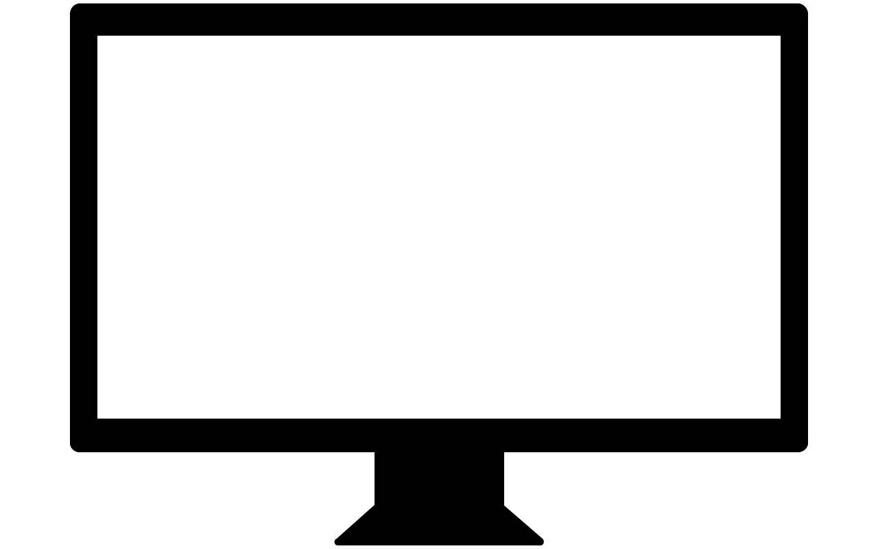 Digital screen clipart