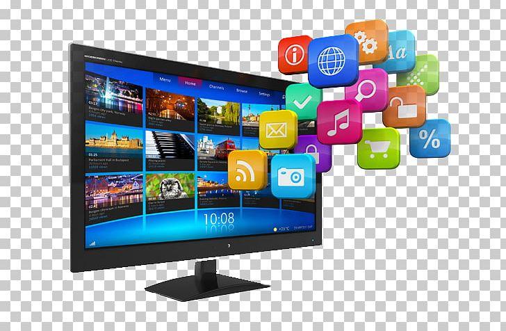Digital screen clipart svg Television Hybrid Broadcast Broadband TV Smart TV 4K ... svg