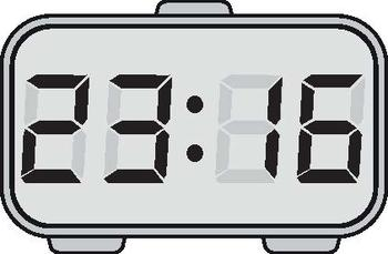 Digital time clipart graphic transparent library Digital Clock Clipart Worksheets & Teaching Resources | TpT graphic transparent library