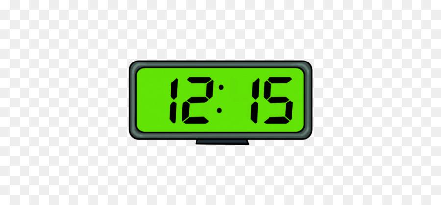 Digital time clipart vector transparent Clock Background clipart - Clock, Green, Font, transparent ... vector transparent