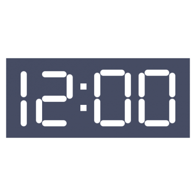 Digital time clipart graphic free download Digital clock clip art clipart images gallery for free ... graphic free download