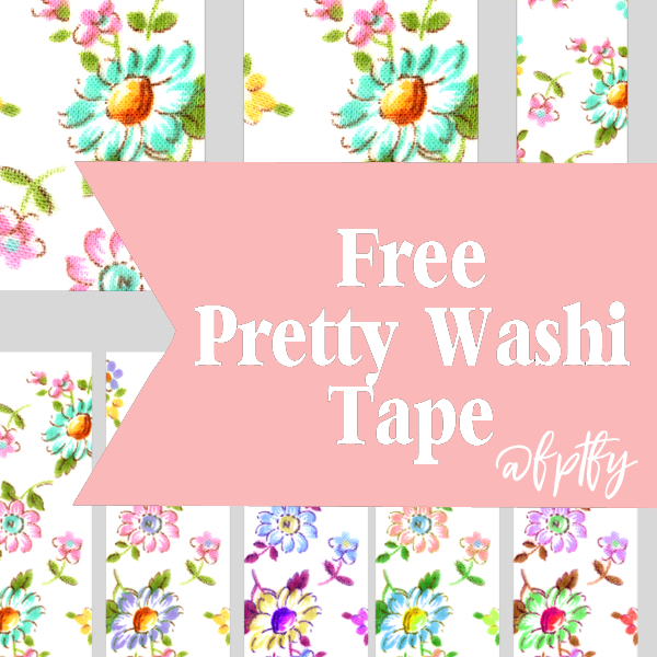 Digital washi tape clipart free clipart library library Free Floral Digital Washi Tape! - Free Pretty Things For You clipart library library