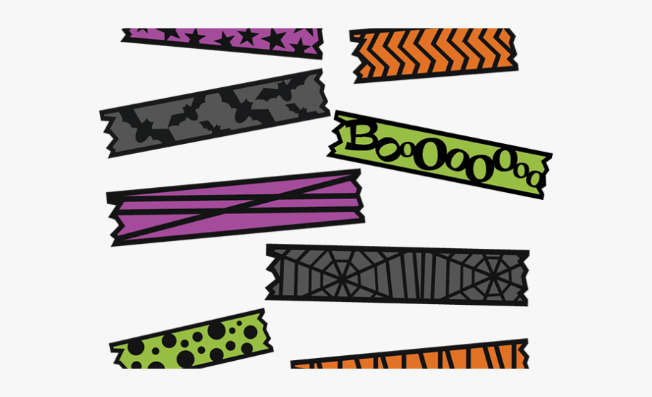 Digital washi tape clipart free clip royalty free stock Digital Clipart Washi Tape - Halloween Washi Tape Png ... clip royalty free stock