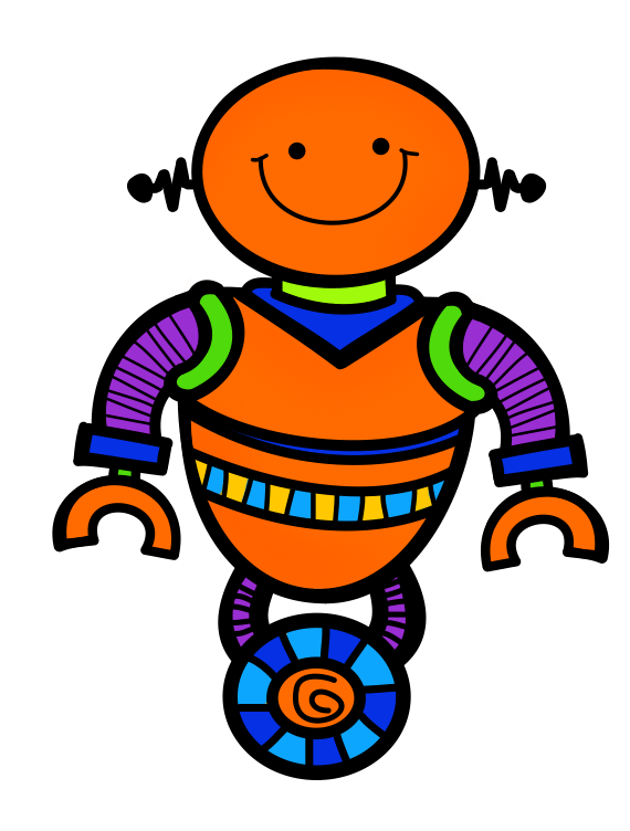 Diguese turkey clipart picture library download Round up the Robots! - Just Reed picture library download