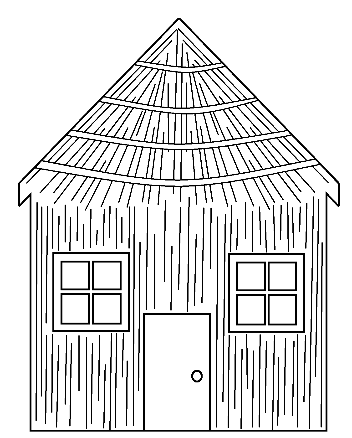 Small house clipart black and white clipart transparent download Houses Clipart Group (64+) clipart transparent download