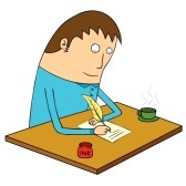 Diligence clipart png royalty free diligent : writing letter | Clipart Panda - Free Clipart Images png royalty free