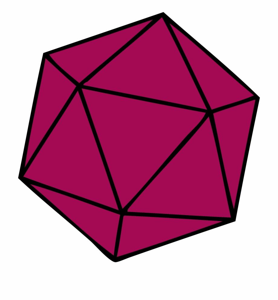 Dimensional clipart svg free Free Download Regular Icosahedron Shape Three-dimensional ... svg free