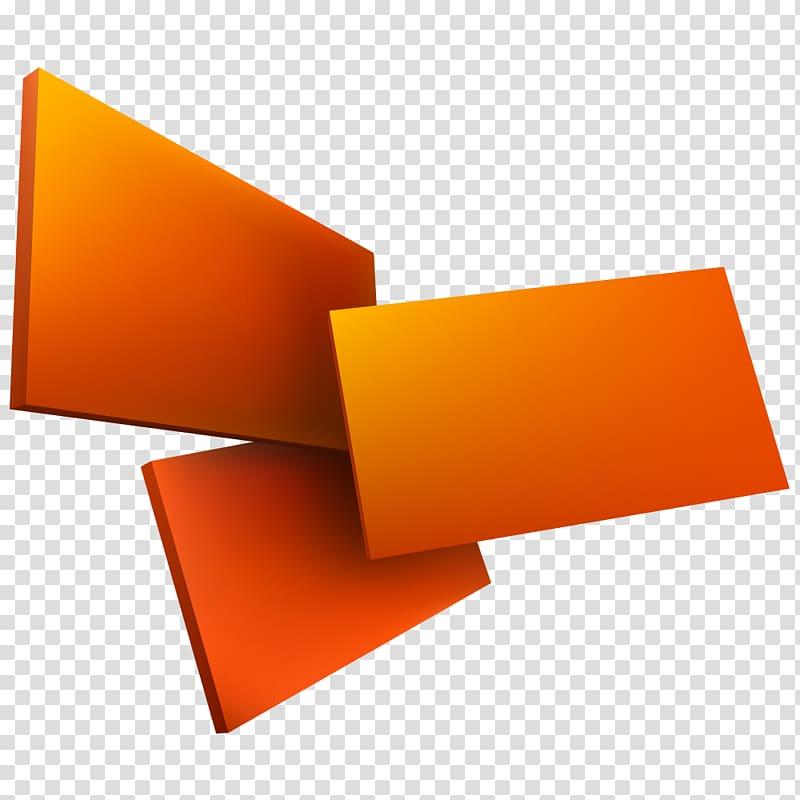 Dimensional clipart graphic free download Three orange boards, Geometry Euclidean Three-dimensional ... graphic free download