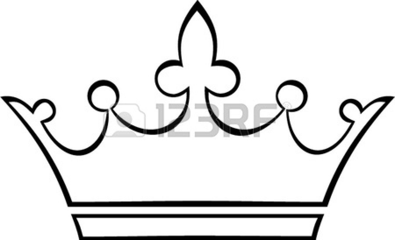 Dimplecrown clipart graphic royalty free Simple Crown Outline | Clipart Panda - Free Clipart Images ... graphic royalty free