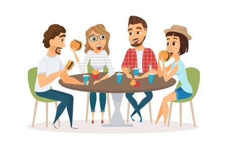 Dinner with friends clipart clip library Dinner with friends clipart 2 » Clipart Portal clip library
