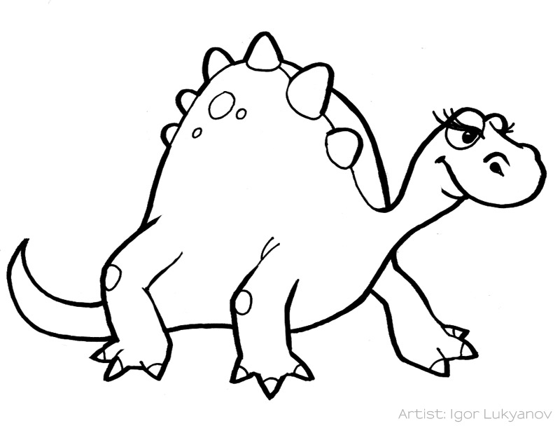 Dino clipart black and white clip freeuse stock Free Baby Dinosaur Pictures, Download Free Clip Art, Free ... clip freeuse stock