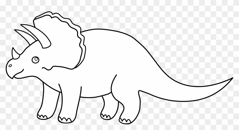 Dinosaur black and white clipart clip freeuse 38 Cute Dinosaur Clipart Images - Dinosaur Black And White ... clip freeuse