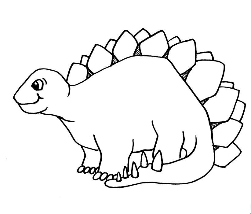 Dinosaur clipart outline svg black and white download Free Dinosaur Outline, Download Free Clip Art, Free Clip Art ... svg black and white download