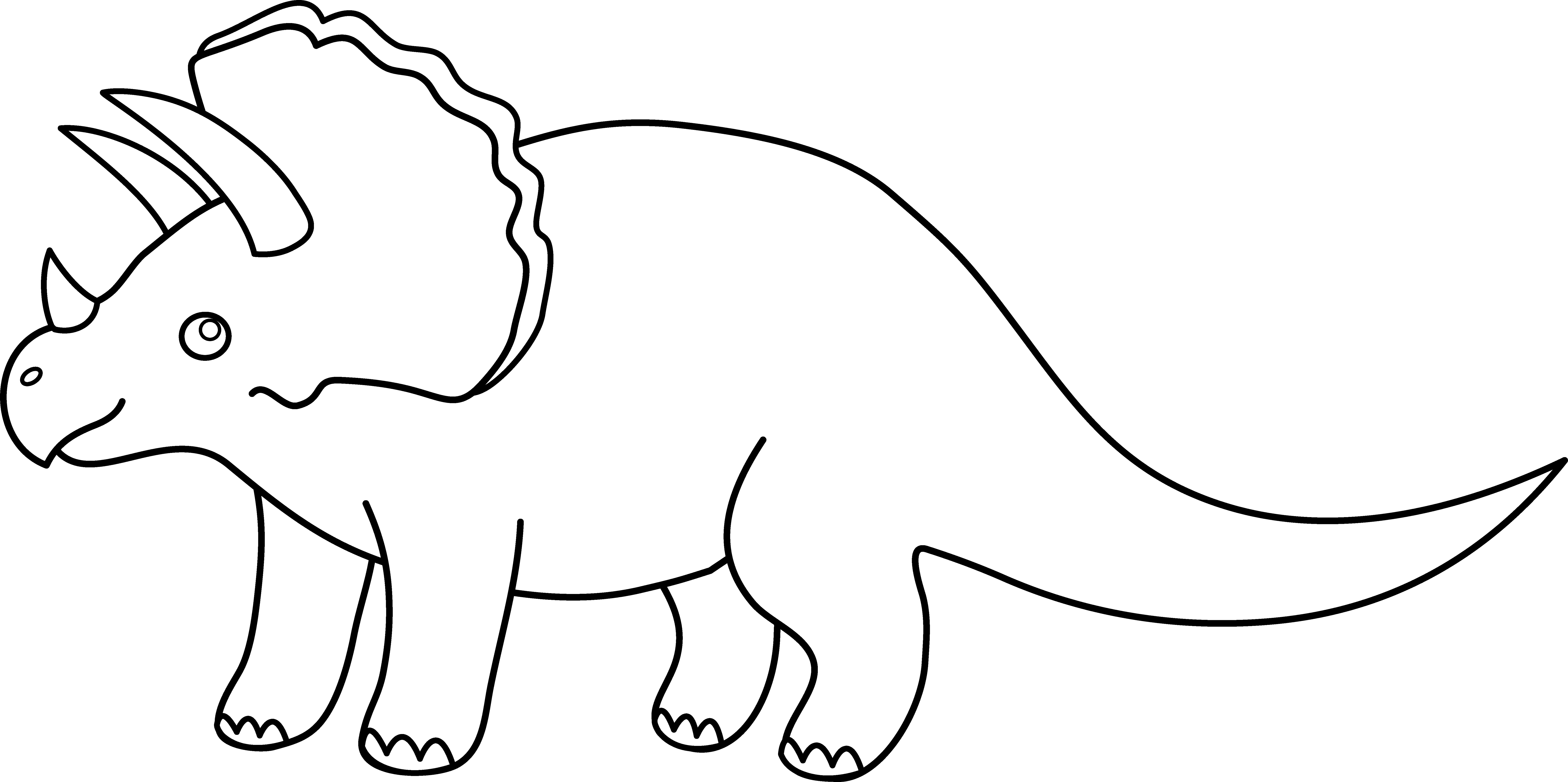 Dinosaur clipart outline png free Free Dinosaur Black Cliparts, Download Free Clip Art, Free ... png free