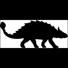 Dinosaur clipart silhouette png transparent download Dinosaur Silhouettes png transparent download