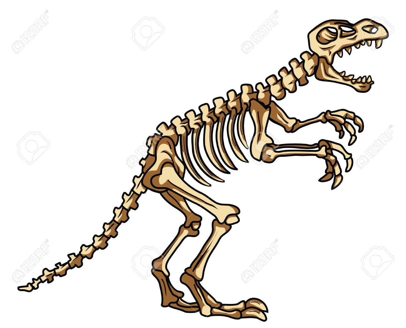 Dinosaur fossil clipart png free library Dinosaur fossil clipart 4 » Clipart Station png free library