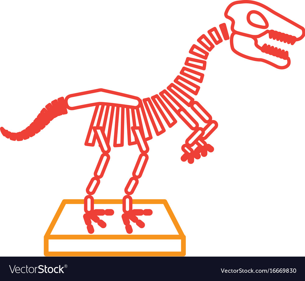 Dinosaur museum clipart clipart royalty free stock Museum dinosaur skeleton icon clipart royalty free stock