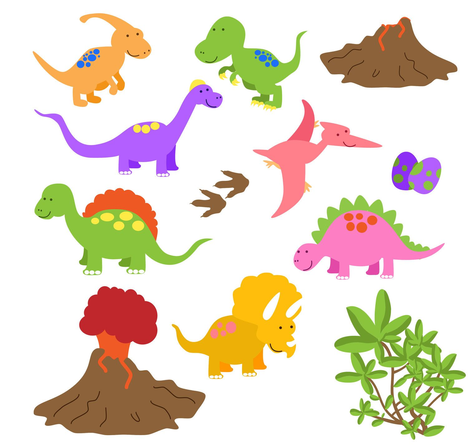 Dinosaurs cliparts hd png transparent download Dinosaur Clipart, Dinosaur Clip Art, Great for a Dinosaur Invitation ... png transparent download