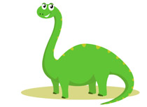 Green dinosaur clipart jpg transparent Free Dinosaurs Clipart - Clip Art Pictures - Graphics - Illustrations jpg transparent
