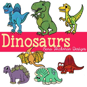 Dinosuars clipart download Dinosaurs and Prehistoric Plants Clipart download