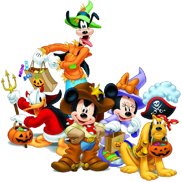 Halloween friends clipart svg transparent stock Mickey Halloween Clipart at GetDrawings.com | Free for personal use ... svg transparent stock