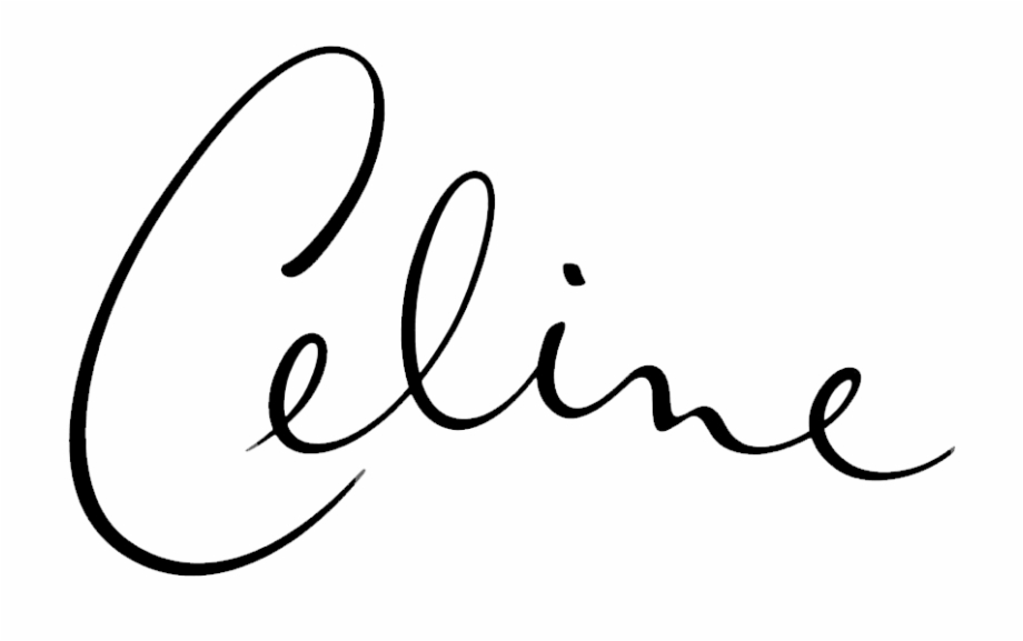 Dion clipart graphic free library Celine Logo - Celine Dion Free PNG Images & Clipart Download ... graphic free library