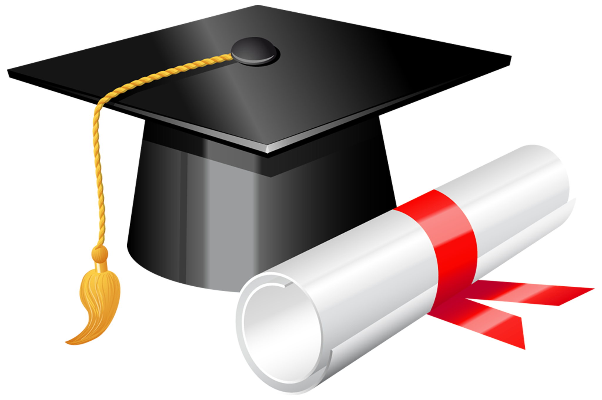 Graduation symbols clipart freeuse stock Graduation Cap with Diploma PNG Clipart - Best WEB Clipart freeuse stock