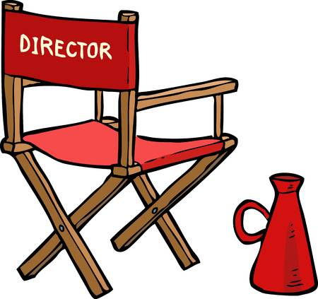 Directors clipart graphic royalty free library Directors chair clipart 7 » Clipart Station graphic royalty free library