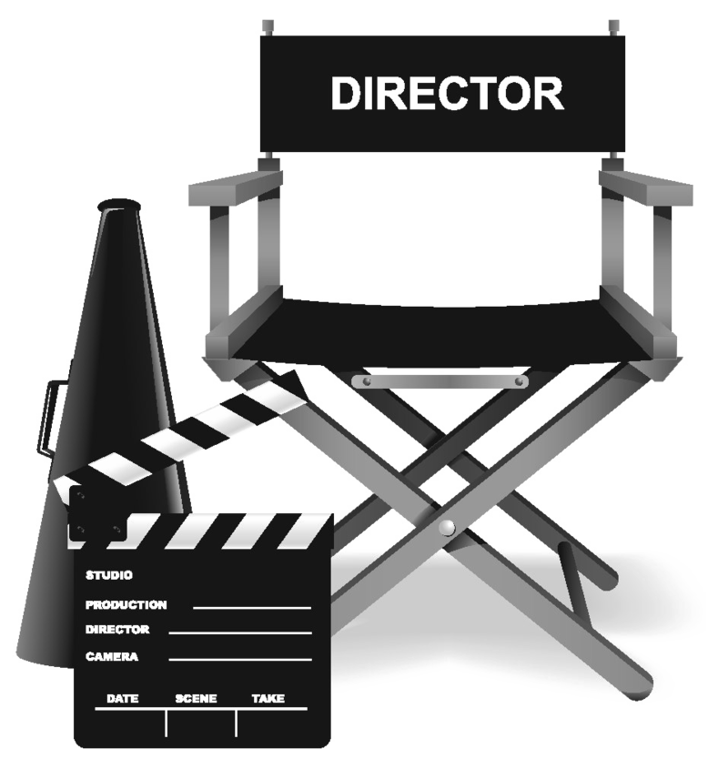 Directors clipart graphic library download Download Free png Director\'s Chair PNG Clipart - DLPNG.com graphic library download