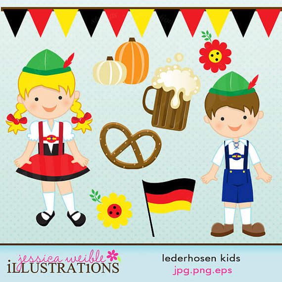 Dirndl und lederhose clipart free download Lederhosen Clipart - Clipart Kid free download
