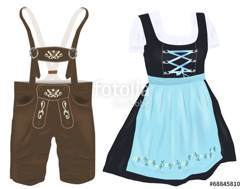 Dirndl und lederhose clipart clipart freeuse stock Search photos by HeGraDe clipart freeuse stock