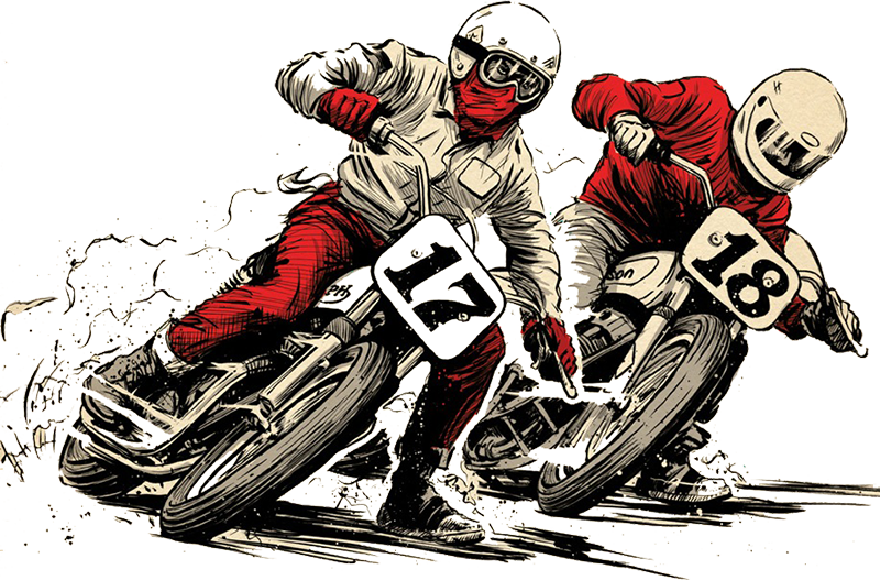 Dirt racing clipart image royalty free stock flat track motorcycle racing clipart Dirt track racing Motorcycle ... image royalty free stock