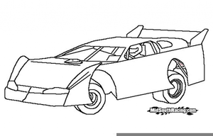 Dirt racing clipart image free download Dirt Race Car Clipart   Free Images at Clker.com - vector clip art ... image free download