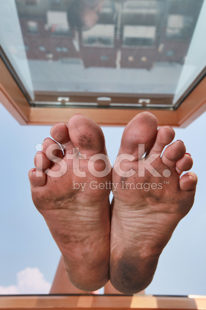 Dirty feet clipart png Dirty Feet IN The Window Stock Photos - FreeImages.com png