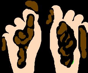 Dirty feet clipart svg transparent download Smosh - Drawception svg transparent download