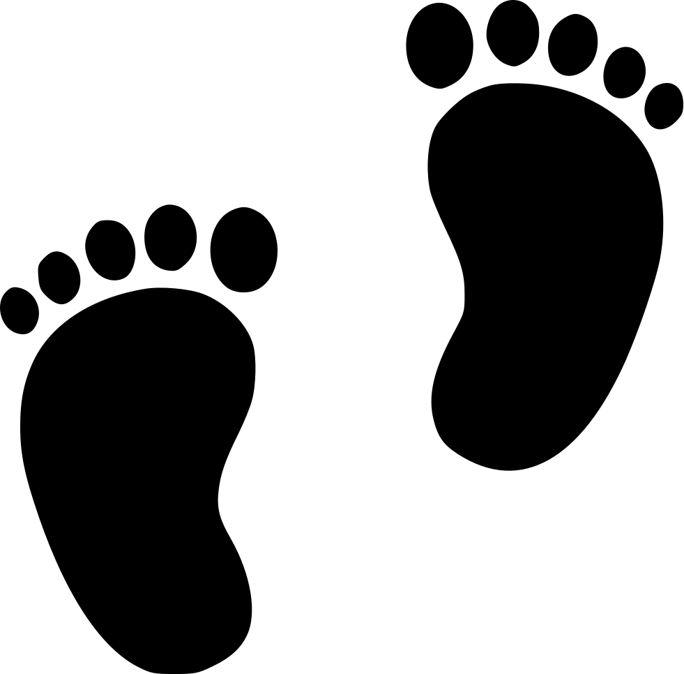 Dirty feet clipart image black and white stock Foot Prints Png - Feet Clipart , Transparent Cartoon - Jing.fm image black and white stock