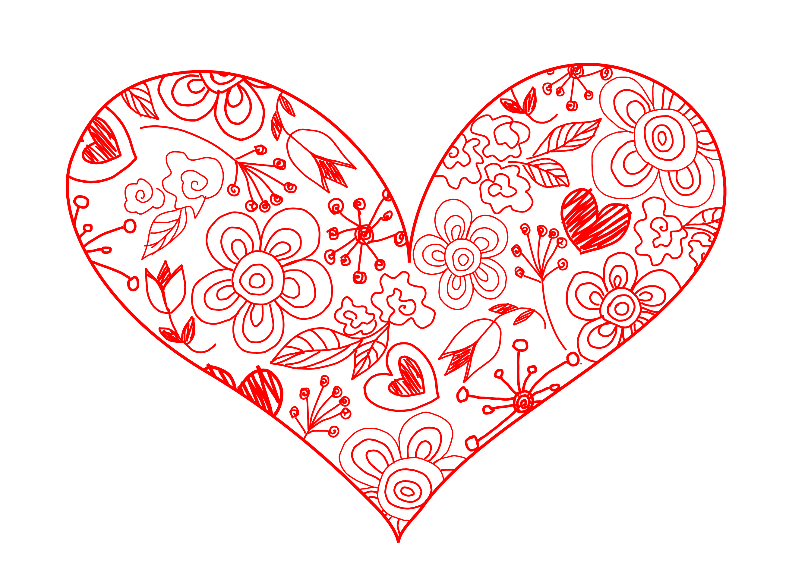 Vintage valentine hearts clip. Dirty heart clipart