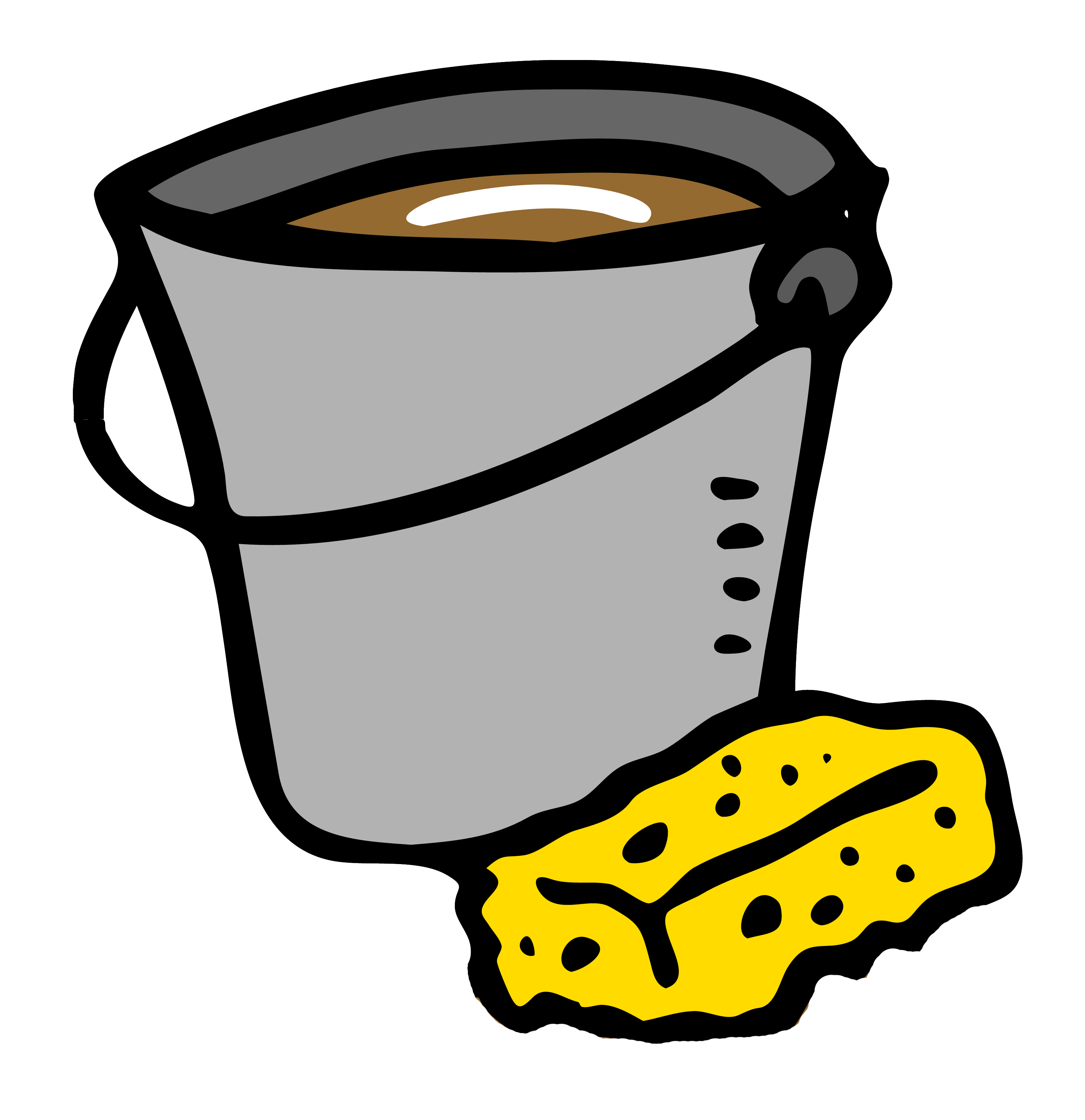 Dirty house clipart png free download The bucket of dirty water   TheGodGuy png free download