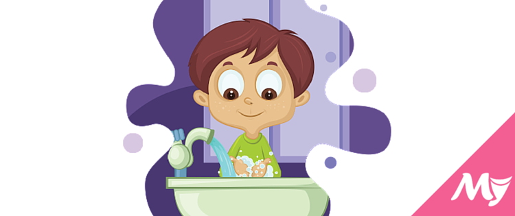 Kid that isn t ever washed their hair a bath clipart clip art free library Bathroom Vocabulary with Pictures: 60 Words and Phrases You Should ... clip art free library