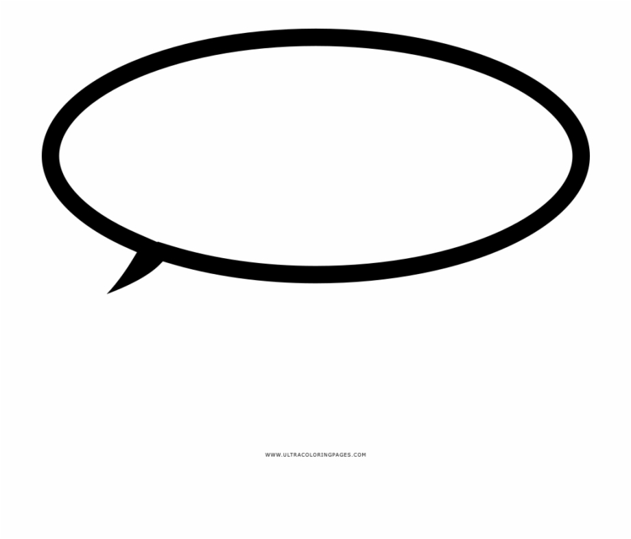 Dirty mangaspeech bubbles cliparts clipart free stock Speech Bubble Coloring Page - Circle Free PNG Images & Clipart ... clipart free stock