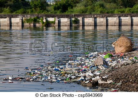 Dirty river water clipart svg transparent library Stock Photographs of Water pollution - heavily polluted river ... svg transparent library